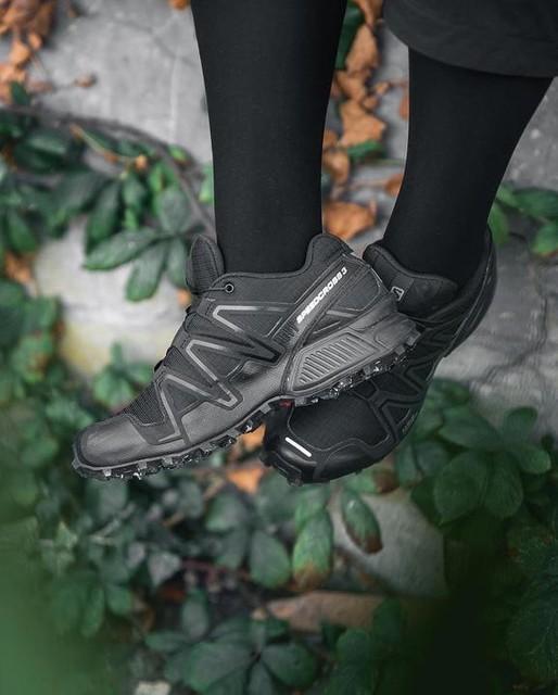 Men/'s Running Shoes Salomon Speedcross 3 Outdoor Hiking Sneakers Athletic black