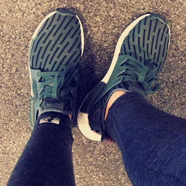 Omg I love these shoes- like walking on clouds! Adidas NMD XR1s 😎☁️ #shoeswag #socomfy #adidas #nmd #xr1 #armygreen #shoelove #fitness #fitfam