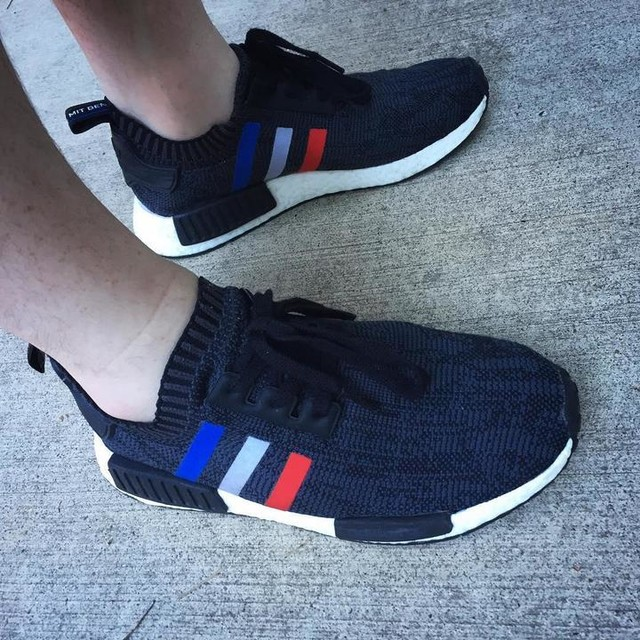 NMD Tri-Color Primeknit Black #shoeoftheday #shoes #shoegame #shoeography #sneakers #adidasnmd #adidas #adidasoriginals #boost #boostvibes #nmd #nmdvibes #primeknit