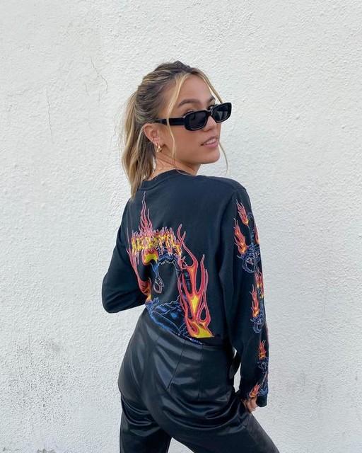briannasilkwood - Stinger Long Sleeve Crew T-Shirt