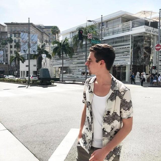Rokas Rimaitis - Crane Hawaiian Shirt