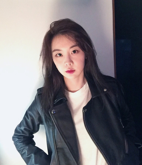 @yosekyung - Balfern Leather Biker Jacket