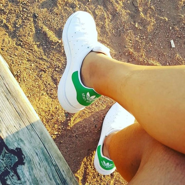 a woman with good shoes is never ugly 🤣😆 #stansmith #adidas
