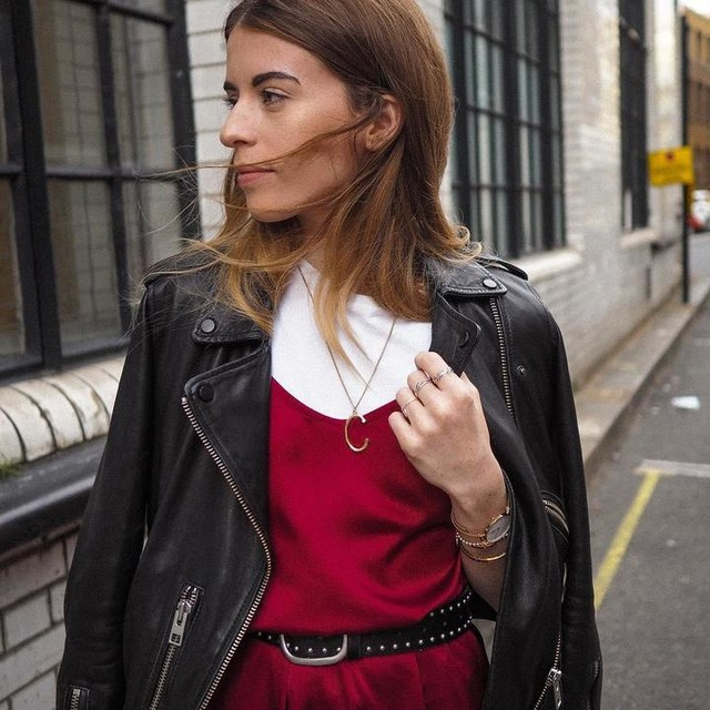 iamcharlotteolivia - Balfern Leather Biker Jacket
