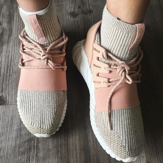 ✨I was in the hunt for a pair of blush toned sneakers and Im not going to lie, these had to grow on me but I love my @adidasoriginals Primeknit Tubular Dooms 😍 they are a unique pair of shoes to match my unique sense of style 💗 #adidas #adidastubular #3stripestyle #pinkadidas #pinkshoes #pinksneakers #pinkkicks #primeknit #stuartslondon #notnmd #butthatlldodonkeythatlldo #bloggerkindalife #sotd #dmvblogger #youtuber #fashion #shoes #youtuber #blushisthenewnude #blushsneakers