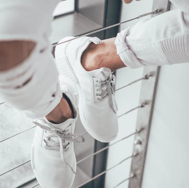 #rmrvisuals #nmd #adidas #triplewhite