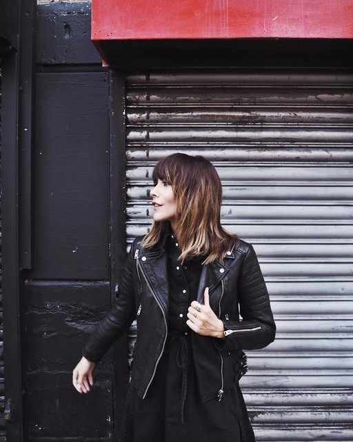 meganellaby - Papin Leather Biker Jacket