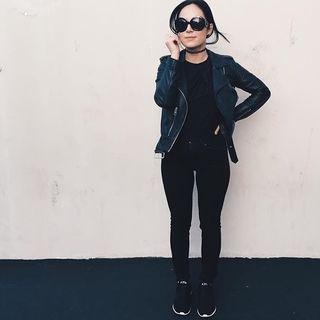 Rachael Phillips - Balfern Leather Biker Jacket