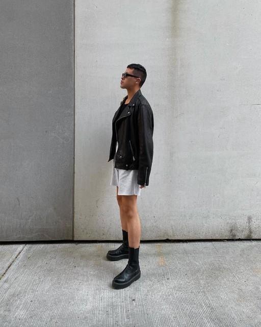 theantoniomostajo - Milo Leather Biker Jacket