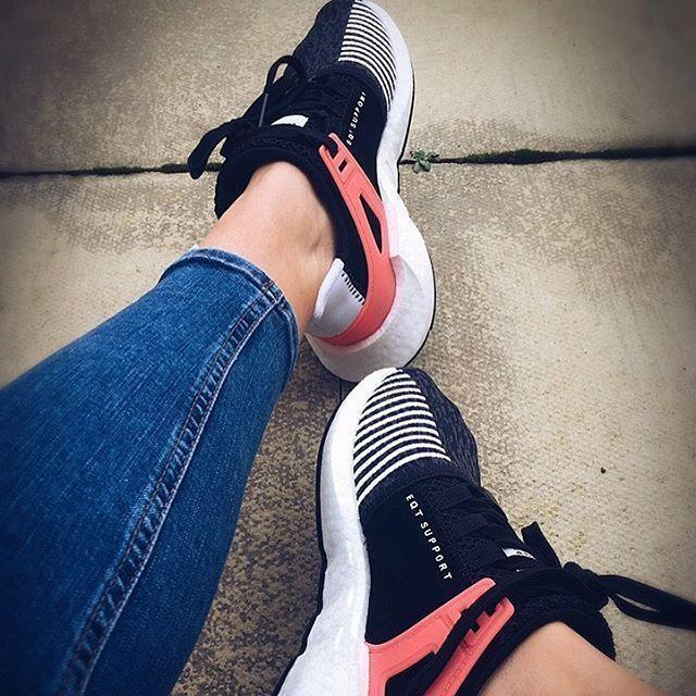 Can't walk but Happy New Trainer Day to me 😁! • • • •  #cantwaittowalk #hobblinginstyle #adidas #adidasoriginals #adidaseqt #boost #eqtsupport #gotthem #kicks #sneakers #kickstagram #9317 #love #zebra #kicksoftheday