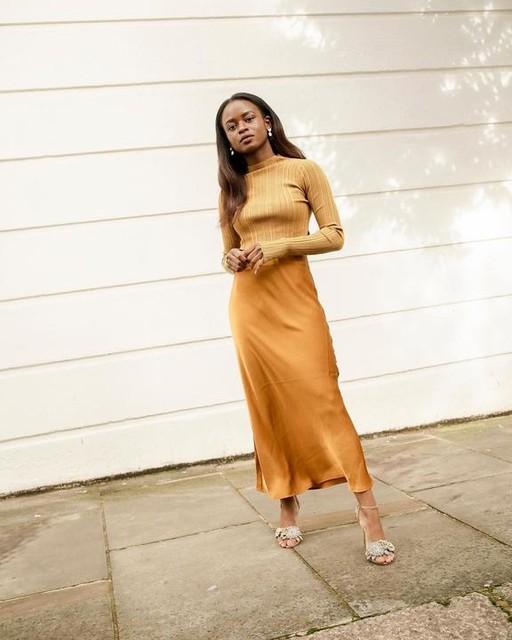 eniswardrobe - Karla 2-In-1 Slip Dress