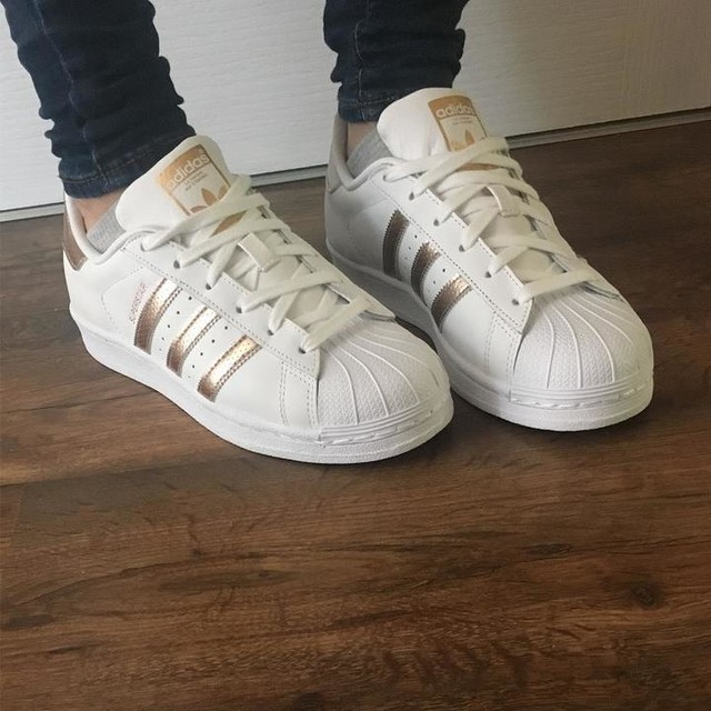 Adidas Superstar White With Colors flagstandards.co.uk