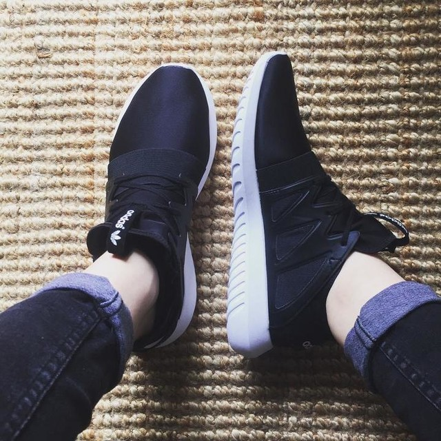adidas Originals Tubular Viral Women's Black/Black/White BB2064