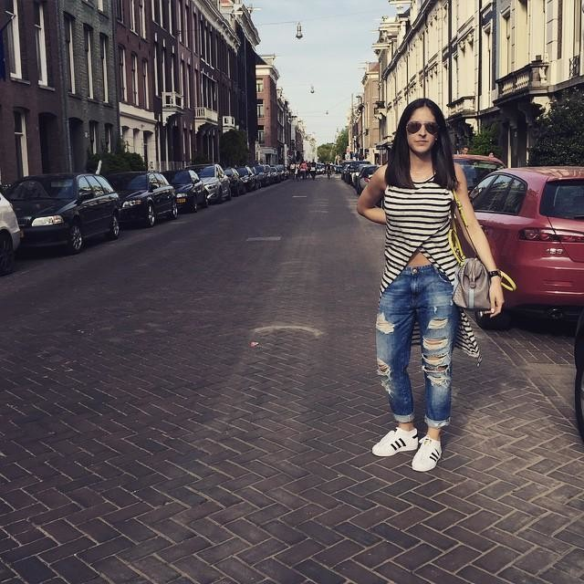 Streets of #amsterdam 💗 #tb #wantback #travelling #qualitytime #0711 #adidas #adidassuperstar