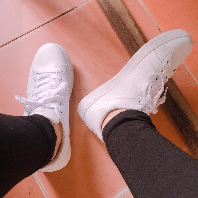 #stansmith #fullwhite #newsneakers