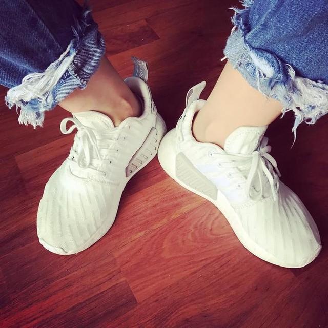 little脚big鞋👟#adidas #nmd
