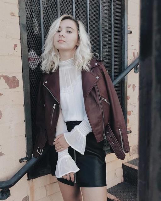 @scartarris - Balfern Leather Biker Jacket