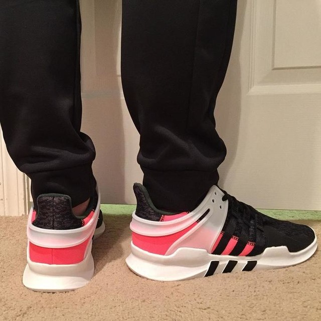 Finally after being backordered for 2 weeks I got my new Adidas EQT today. Really like the look of them. Comfortable as well #adidas #adidaseqt #turbored #footlocker