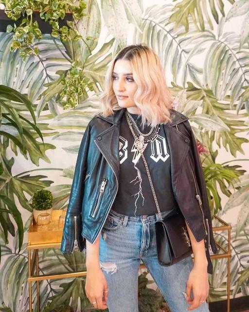 theminimalistmodel - Balfern Leather Biker Jacket