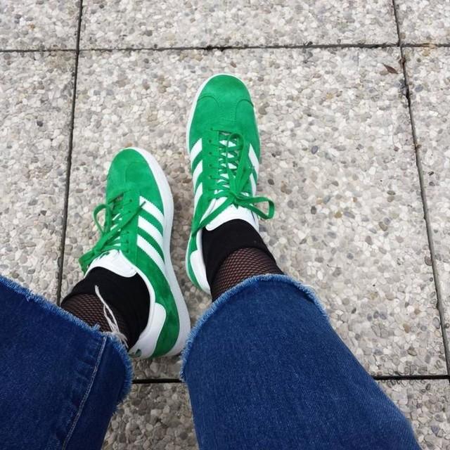 #piededifata #sobrietà #adidas #gazelle #adidasgazelle #green #jeans #zara #trf