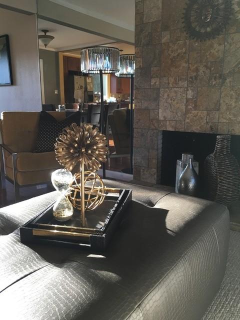 Floor Lamp Wells Crystal Living Spaces