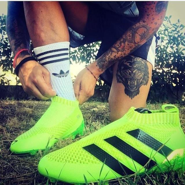 READY ?! Miaoo ⚽️ 🚀  #newshoes #adidas #adidasfootball #ace16 #newseason