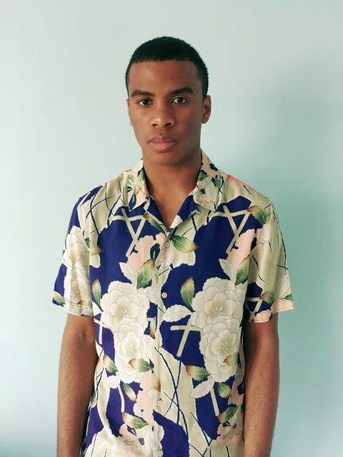 jahmarr reid - Camisa Fuyugi