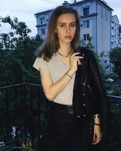 Sasha May - Metal Pencil Skirt