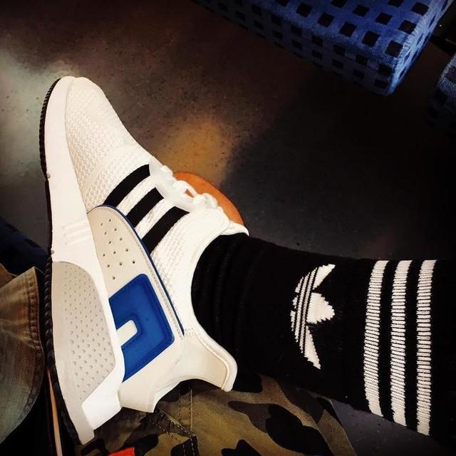 👟❤️ ————————————— #sneaker #love #adidas #eqt #socks #leipzig #gronnie #summervibes #läuft #sichgutmitdentretern  @adidasoriginals