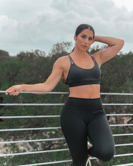 """I used to struggle to verbalize my goal and reason behind putting health and fitness content online.  I knew I had a purpose and story to tell, but I wasn't a """"fitness model"""", I don't always have a toned stomach, my booty is big, I """"weigh a lot"""", I eat cupcakes....🤷🏻♀️ THAT is me.  My hope is that by me being myself, not adhering to any extremes and living a healthy, very balanced fitness journey, someone is inspired and feels like they can be """"fit"""". Fit doesn't need to be defined as a certain body type or aesthetic- I simply hope to motivate y'all to DO YOU, be you, and stay active doing something you enjoy. 💞 Clear your mind and find passion through fitness. —————————— SHOP THIS OUTFIT from the new @adidaswomen @wanderlustfest collection👉🏽 https://bit.ly/2tfi8v7 🙌🏽 I'm now an @adidas affiliate and y'all know I'm transparent so JUST SAYIN! But who doesn't love the 3 stripe life 😊 ———— #createdwithadidas #adidaswanderlust"""