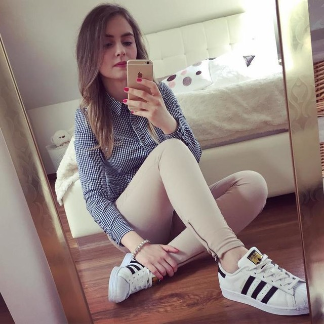 ✌️#today #polishgirl #girl #selfie #me #adidassuperstar #picoftheday