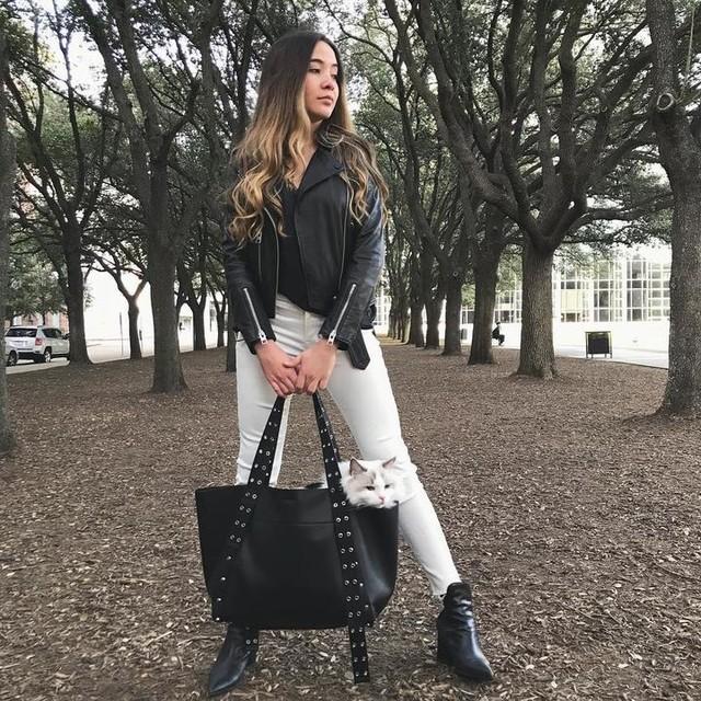 gretacofresi - Sid Leather East West Tote Bag