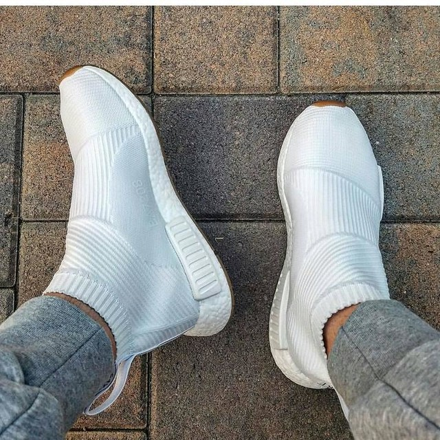 NMD CS2 gumpack white. #adidas #boost #nmd #shoes  Follow me @jace._.preator