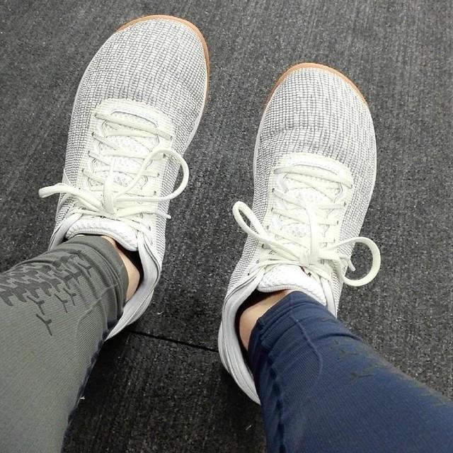 Děkuji za příležitost 😘🏋💪 #test #try #tour #reebok #nano8 #slippers #comfort #crossfit #shoes #open #rx #18point1 #184points #t2b #dumbbellhangcleanandjerk #row #proudofmyself #nicestart