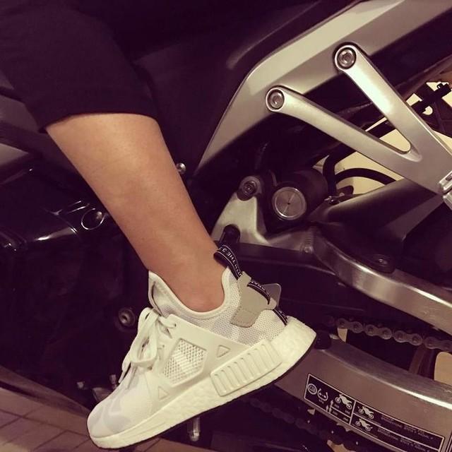 #cbr #hondaracing #honda #cbr600rr #nmd #nmdr1 #adidas #adidasnmd