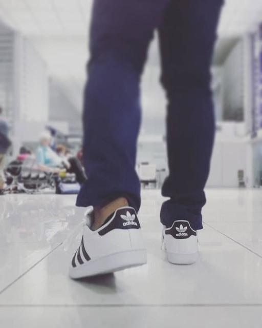 Traveling is the secret tonic of my creativity . . . . . . #addidas #3stripesstyle #classics #travelbug #superstar