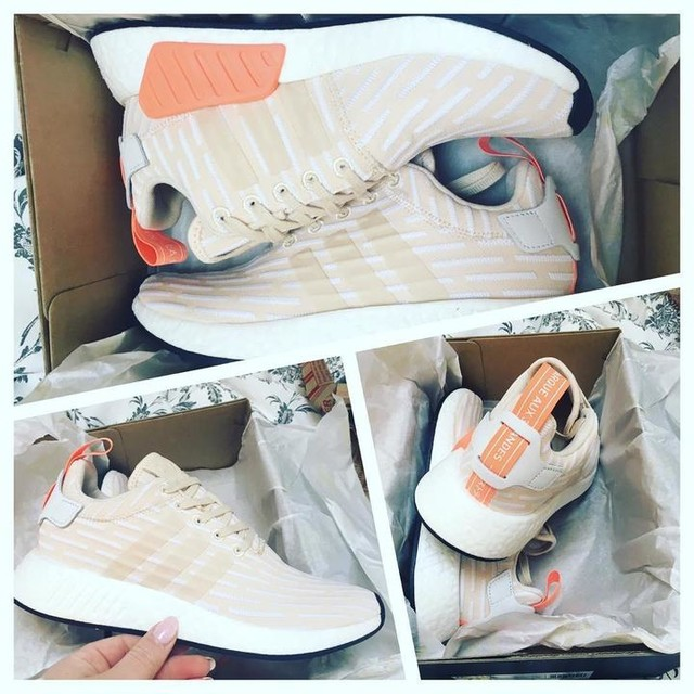 My new pair of shoes!!! #adidasnmdr2 shoes ... those shoes are so comfortable and cute #love #shoes #sneakercommunity #adidas #nmd_r2 #women #shoegame #adidasoriginal #3stripesstyle