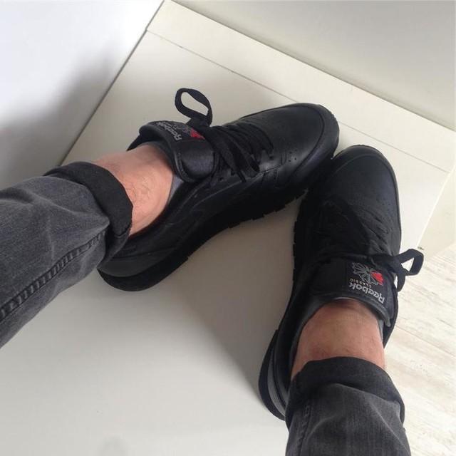 💍Reebok  Classic Black 💍 #boy #black #like #reallove #reebokclassic #nice #photo #love #techno #spring #beginagain #shoes
