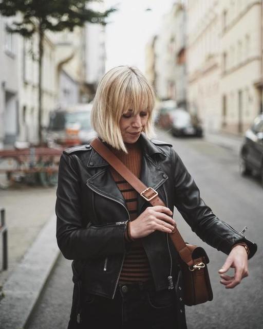 nadine_at - Balfern Leder Bikerjacke