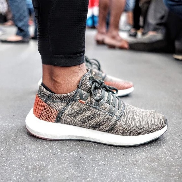 PUREBOOST GO Built to handle curbs, corners and uneven sidewalks, these natural running shoes have an expanded landing zone and a heel plate for added stability. . . . adidasindonesia  adidasrunning  #adidasindonesia  #adidasrunning  #adidas  #PUREBOOST GO #PUREBOOSTGO #createdwithadidas  #heretocreate