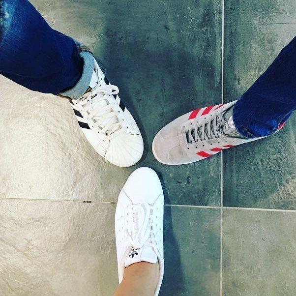 it's an @adidasoriginals kinda Thursday #thursday #adidasoriginals #stansmith #superstar #gazelle