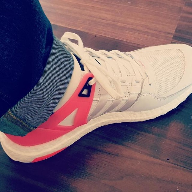 Pinkywinky adidas 😍 #adidas #eqtsupport #ultra #boost #3stripesstyle #30%off #smooth #premium #summer2017 #cloudwalking #comfortable #adidasaddict
