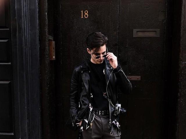 dnlchrkshyn - Manor Leather Biker Jacket