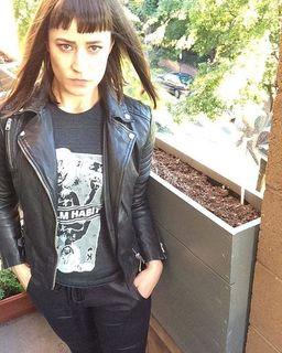 Allis Mild - Papin Leather Biker Jacket