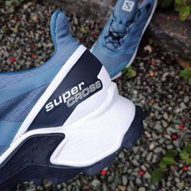 Damenlaufschuhe Salomon Damen Schuhe Supercross Gtx W Bals