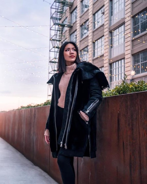 mishbehaved - State Lux Shearling Parka