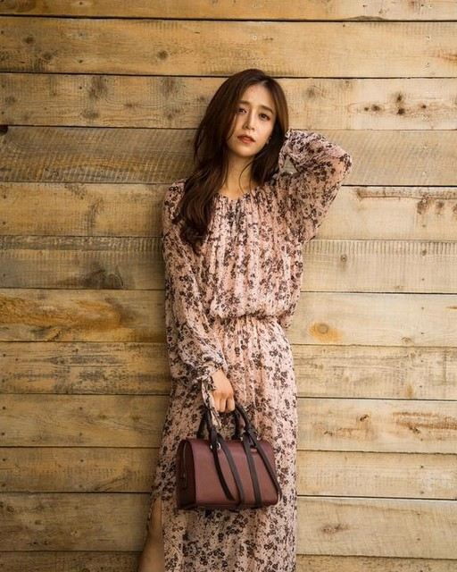maruyumi - Chesca Petal Maxi Dress