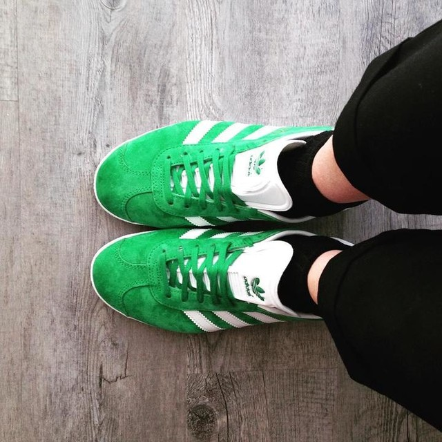 Green si the new black 💚#springisintheair#newshoes#sneakerslover#adidas#adidasgazelle#adidasoriginal#adidasgirl#gazelle