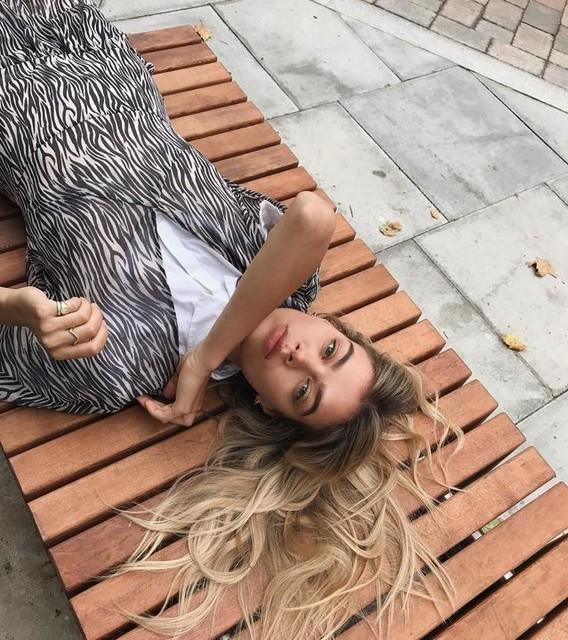 Joanna Halpin - Marley Zebra Dress