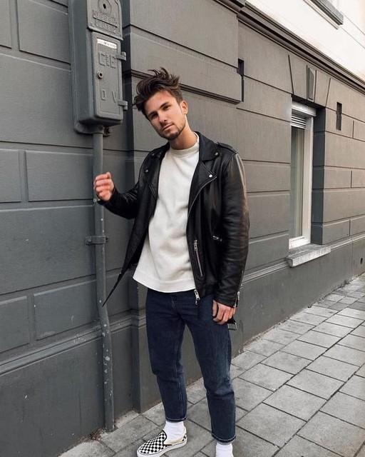 koenmuller - Wick Leather Biker Jacket